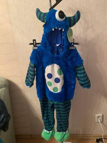 карнавальный костюм монстрик из корпорации монстров