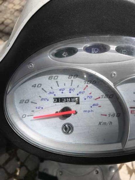 Sym Fiddle II 125 cc   1.400 KM
