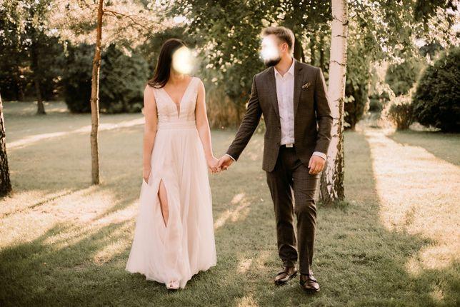 Suknia ślubna Diana Maya - boho