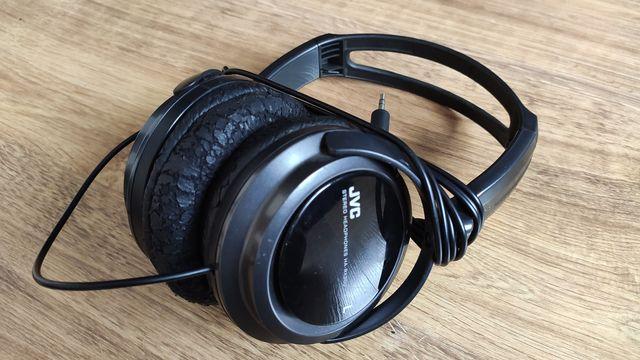 Słuchawki nauszne JVC HA-RX300 uszkodzone