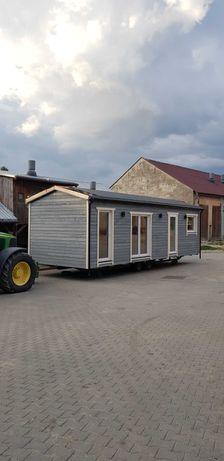 Domek mobilny modułowy holenderski drewniany całoroczny letniskowy