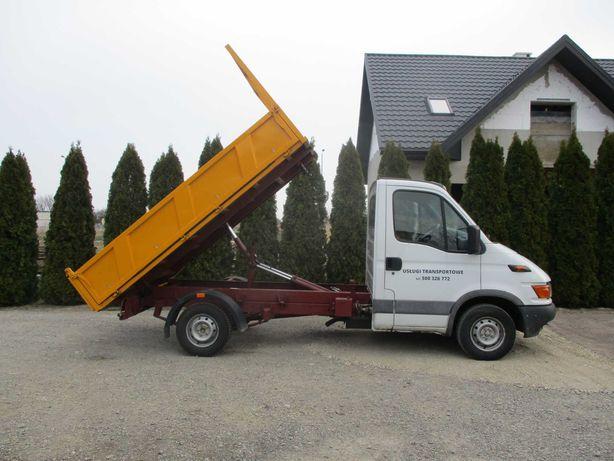 Usługi transportowe Iveco Daily - wywrotka!