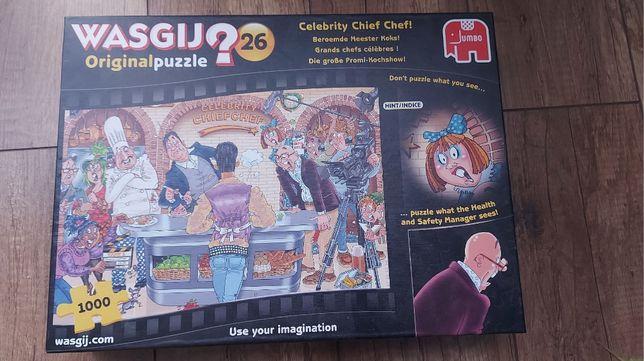 Puzzle Wasgij #26 - Celebrity Chief Chef