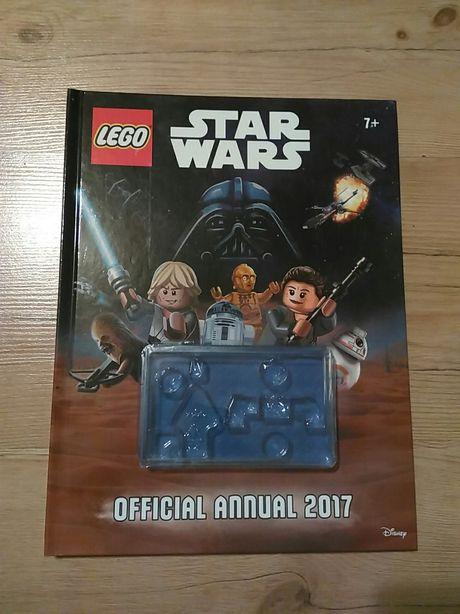 Lego Star Wars książka z zadaniami komiksami łamigłówki Gwiezdne Wojny