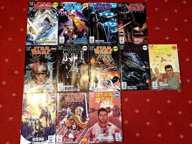 Star Wars Komiks 12 numerów, lata 2016/2018, Egmont