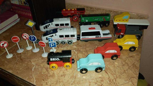 Брио Brio локомотив машинки поезд