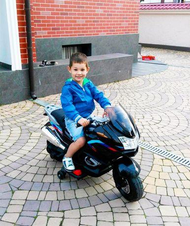 Хит 2021! Мотоцикл детский BMW MX 609: 90W: 3-8 лет /дитячий мотоцикл