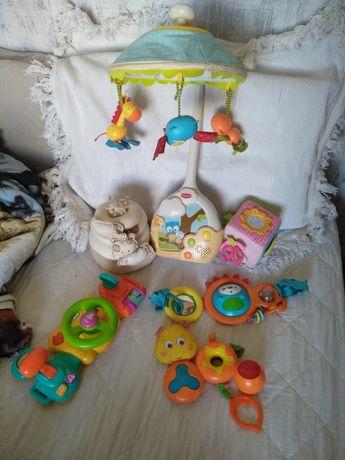 Детские игрушки мобиль tiny love skip hop fisher price на коляску