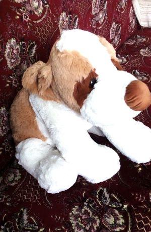 Мягкая большая игрушка собака Новая