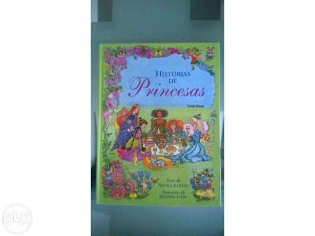 Livro Histórias de Princesas