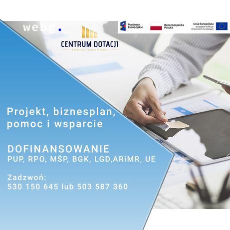 Dotacje na kapitał obrotowy BIZNESPLAN PUP LGD Dotacje z UNII EUROPEJ