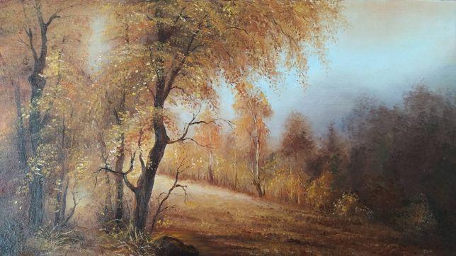 """Картина маслом на холсте.''Осенний мотив"""""""