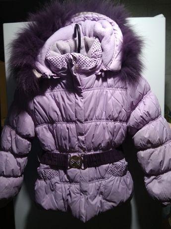 Зимний костюм детский 110 см