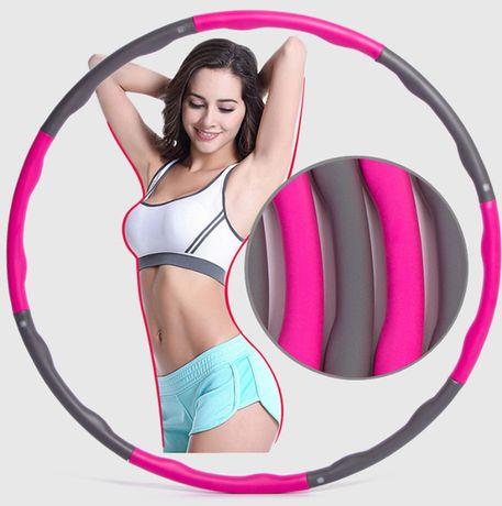 HULA HOP piankowy masujący masażer fitness trening siłownia *HIT*
