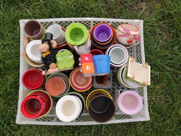Doniczki / osłonki ceramiczne / doniczka / osłonka ceramiczna