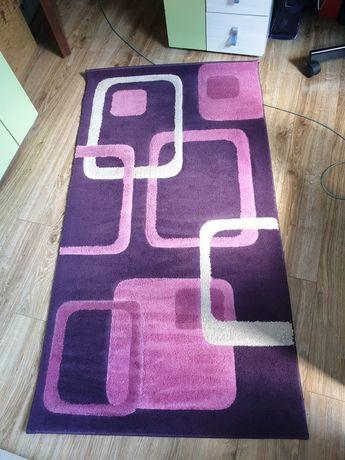 Fioletowo różowy dywan