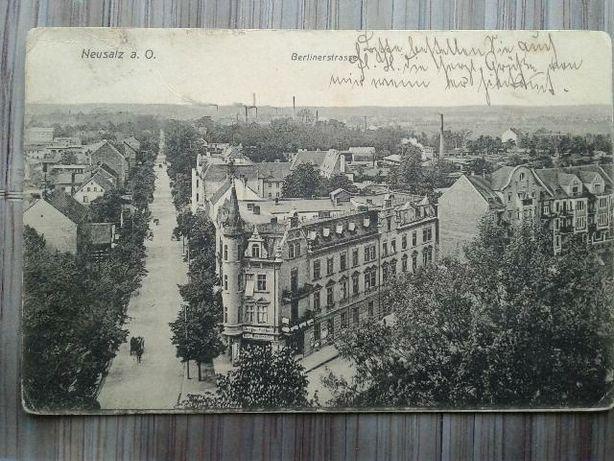 Nowa Sól pocztówki 1909 Neusalz
