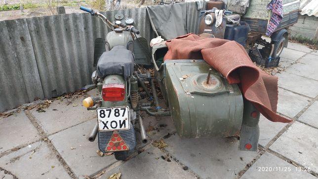 Продам Мотоцикл Днепр мт с запчастями