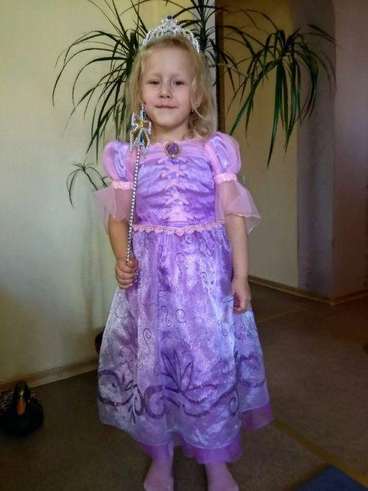 Новогодний костюм принцессы Рапунцель. Донецк - изображение 1