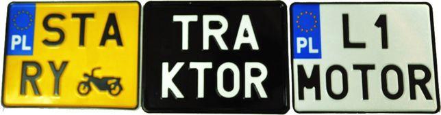 Polskie Tablice Rejestracyjne Motor , Traktor