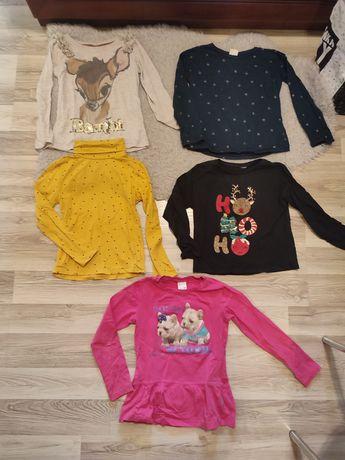 Paka rzeczy dla dziewczynki jesień zima