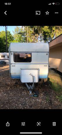 Przyczepa Kempingowa Camping TE SPRINTER 390 Z Namiotem