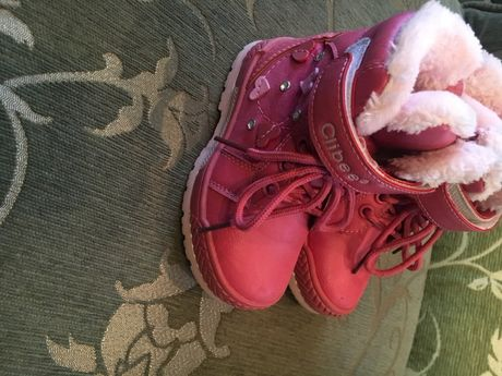 Зимові чобітки. Сапожки. Clibee. Були взуті кілька раз