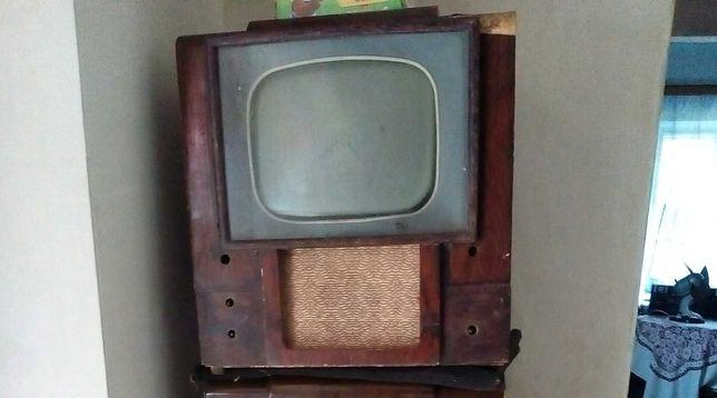 квн 49м, ретро ламповый,винтаж ссср телевизор