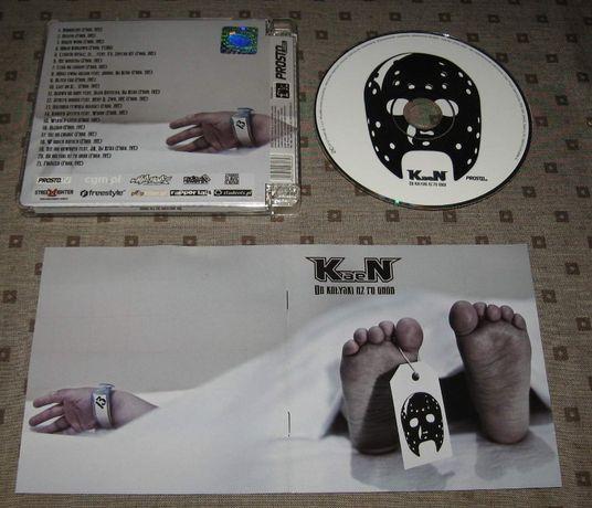 KAEN Od Kołyski Aż Po Grób '2012 CD 1 WYDANIE Sokół Słoń WWO Molesta
