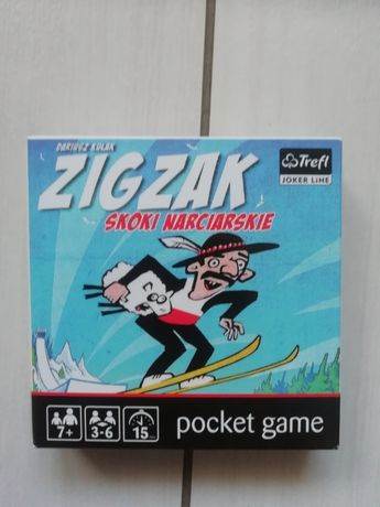 Gra planszowa karciana Zigzak
