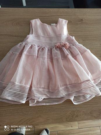 Sukienka różowa 80