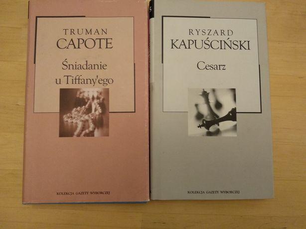 Książki śniadanie u Tiffany'ego Cesarz Atlas Polski  Na osiołku