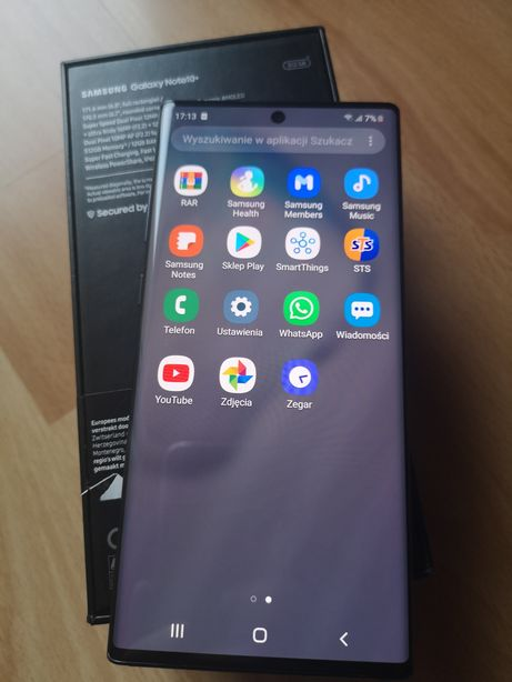 Samsung Note 10 Plus Black 512gb na S20Plus