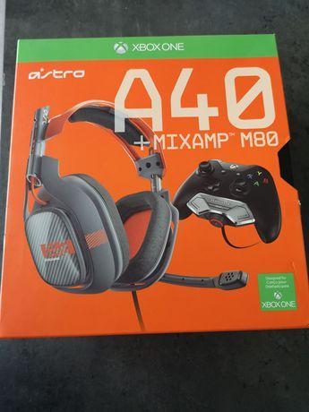 Słuchawki Astro A40 +MIXAMP M80 xbox one
