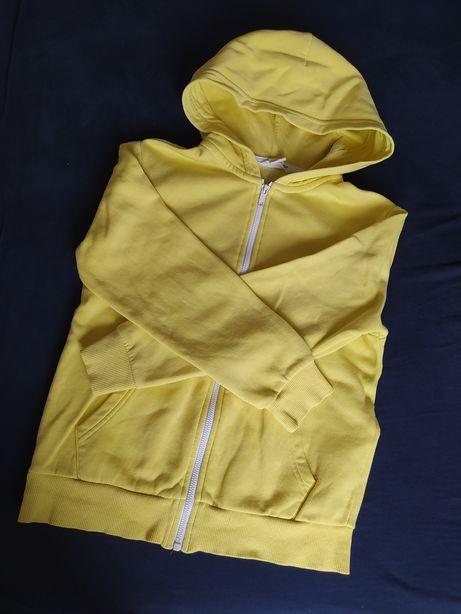 Żółta bluza H&M r. 134/140