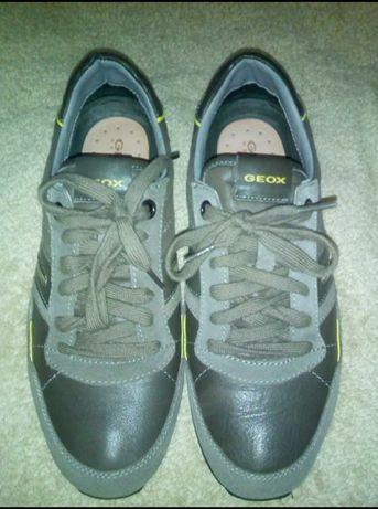 Кожаные кроссовки Geox Оригинал