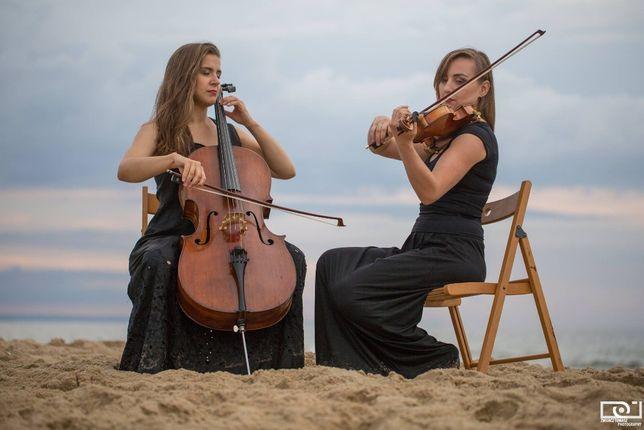 Duet skrzypce-wiolonczela.