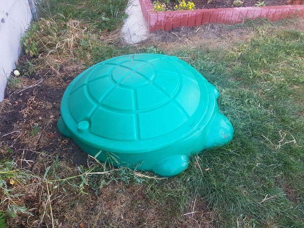 Piaskownica Little Tikes żółw, żółwik, zakrywana, z pokrywą