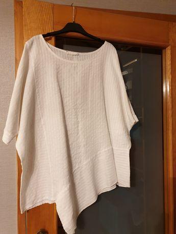 Biała bluzeczka.