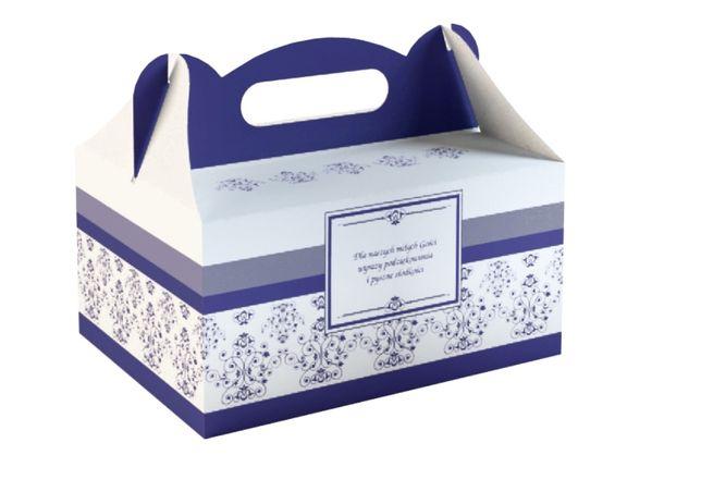 Opakowania na ciasto tort Granatowe PROMOCJA