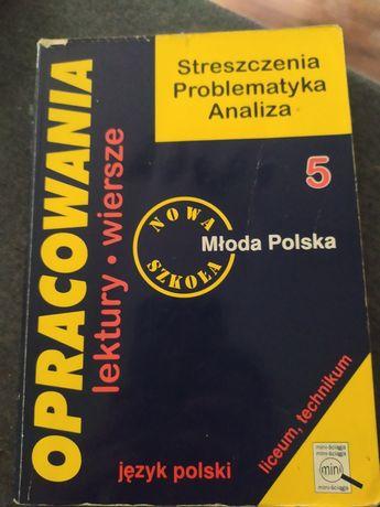 Opracowania lektury i wiersze Młoda Polska
