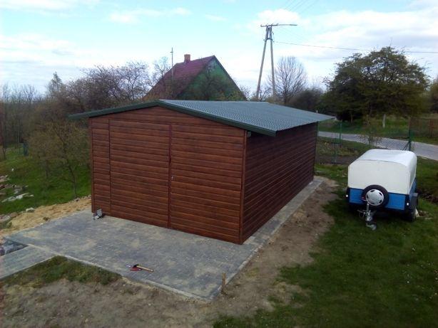 Garaż blaszany 2x3 magazyn schowek blaszak schowek na budowę wiata