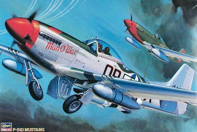 North American P-51 D Mustang - Kit Modelismo 1/32 Hasegawa