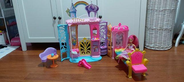 Pałac Dreamtopia z akcesoriami + lalka