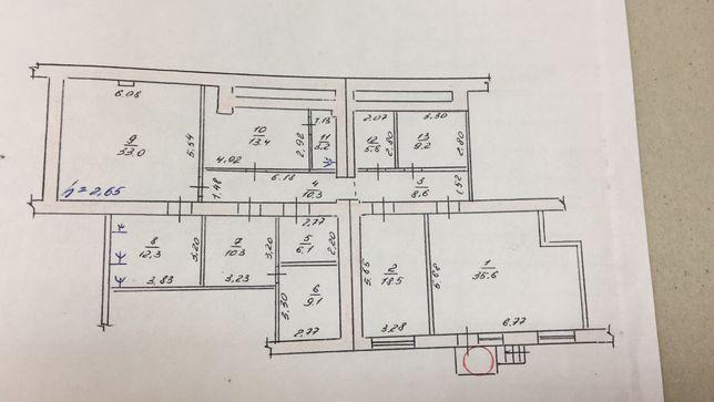Помещение 172 кв.м, Бульвар Гвардейский. Под офис, склад, магазин