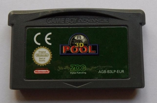 Killer Pool 3D para GBA / Nintendo DS
