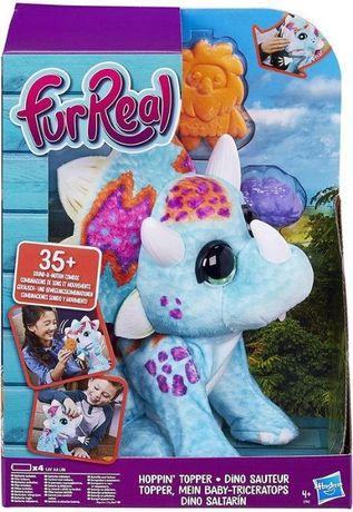 FurReal Интерактивный динозавр Топпер трицератопс Hoppin' Topper
