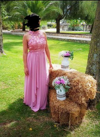 Vestido Cerimónia Comprido