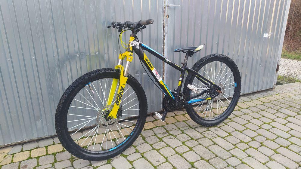 "rower mtb ktm chicago 14 "" M, koła 27.5 cali, napęd shimano, hydraulik Łukowica - image 1"