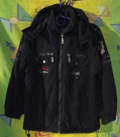 Демисезонная двусторонняя куртка Boulevard для мальчика 9-10 лет
